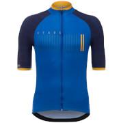 Santini La Vuelta 2017 Stage 19-20 Asturias Jersey - Blue/Yellow