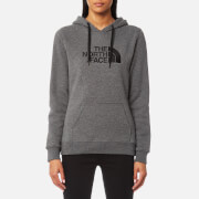 The North Face Women's Drew Peak Pullover Hoody - TNF Medium Grey Heather/Vintage White
