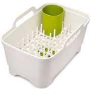 Joseph Joseph Wash and Drain Plus Washing Up Caddy - White/Green