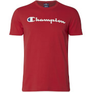 Champion Men's Logo T-Shirt - Red