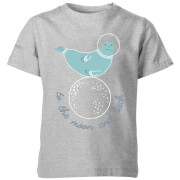 To the Moon and Back Kid's Grey T-Shirt