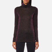 Maison Scotch Women's Long Sleeve Fitted Turtle Neck Top - Combo A