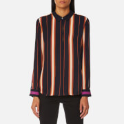 Maison Scotch Women's Silky Button Up Shirt - Combo S