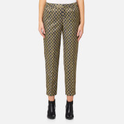Maison Scotch Women's Tailored Metallic Pants - Combo A