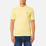 Lyle & Scott Men's Polo Shirt - Pale Yellow
