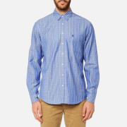 Joules Men's Long Sleeve Classic Shirt - Blue Check