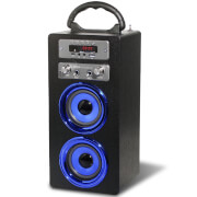 Pure Acoustics MCP-20 Bluetooth Karaoke Speaker (Including Mic) - Black