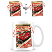 Cars Disney Pixar Coffee Mug (Cars Poster)