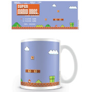 Super Mario Coffee Mug (Retro Title)