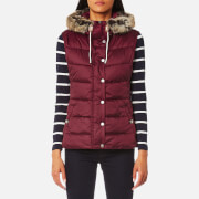Barbour Women's Beachley Gilet - Carmine