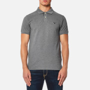 GANT Men's Contrast Collar Polo Shirt - Grey