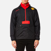 Columbia Men's Manchester United Flashback Windbreaker Pullover - Black