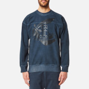 Vivienne Westwood Anglomania Men's Square Sweatshirt - Navy