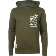 Troy Men's Cord Hoody - Forest Night