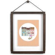 Umbra Corda Frame - Walnut - 11 Inch x 14 Inch