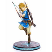 The Legend of Zelda Breath of the Wild PVC Link 25cm Statue