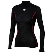 Sportful Women's BodyFit Pro Long Sleeve Base Layer - Black