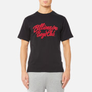 Billionaire Boys Club Men's Flock Script Logo T-Shirt - Black