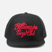 Billionaire Boys Club Men's Script Logo Snapback Cap - Black
