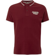 Crosshatch Men's Morristown Polo Shirt - Sun Dried Tomato