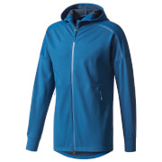 adidas Men's ZNE Duo Hoody - Blue/Black