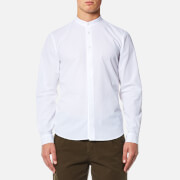 Folk Men's Grandad Shirt - White