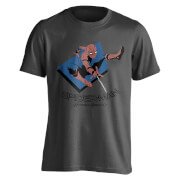 Marvel Spider-Man Men's Spider Jump T-Shirt - Charcoal