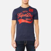 Superdry Men's Underline T-Shirt - Princeton Blue Marl