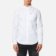 Superdry Men's Ultimate Oxford Long Sleeve Shirt - Optic White
