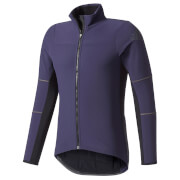 adidas Men's Climaheat Long Sleeve Winter Jacket - Navy