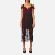 Three Floor Women's Sonnet Dress - Grape/Black