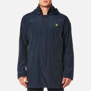 Lyle & Scott Men's Removable Hooded Mac - Navy Jacket