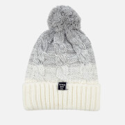 Superdry Women's Clarrie Cable Beanie - Light Grey Ombre