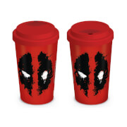 Marvel Deadpool Splat Travel Mug