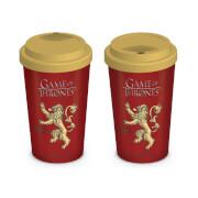 Game of Thrones House Lannister Travel Mug