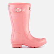 Hunter Kids' Original Glitter Finish Wellies - Panther Pink