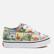 Vans X Peanuts Toddler's Authentic Trainers - Comics/Black/True White