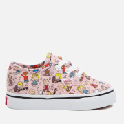 Vans X Peanuts Toddler's Authentic Trainers - Dance Party/Pink