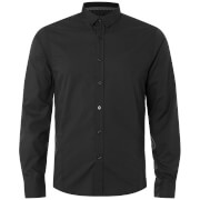 Brave Soul Men's Tudor Shirt - Black