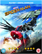 Spider-Man Homecoming Blu-ray + Comic Book