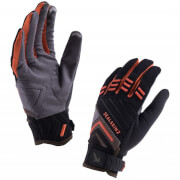 Sealskinz Dragon Eye Trail Gloves - Black/Green/Orange