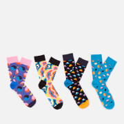 Happy Socks Men's Pop Socks Gift Box - Multi - EU 41-46