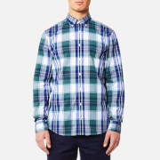 Tommy Hilfiger Men's Hendriks Checked Long Sleeve Shirt - Mediterranea/Maritime Blue/Multi