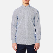 Tommy Hilfiger Men's Lexington Long Sleeve Shirt - Estate Blue/Bright White