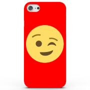 Emoji Wink Phone Case for iPhone & Android - 4 Colours