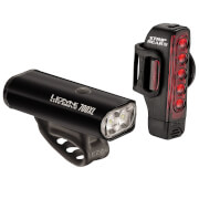 Lezyne Lite Drive 700/Strip PRO 300 Lightset - Black