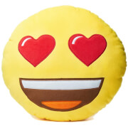 Emoji Cushion - Heart Eyes