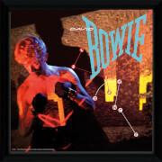 David Bowie Lets Dance - 12 x 12 Inches Framed Album Print
