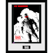 Doctor Who Spacetime Tour Ice Warrior - 16 x 12 Inches Framed Photograph