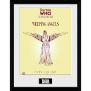 Doctor Who Spacetime Tour Weeping Angels - 16 x 12 Inches Framed Photograph